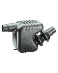 Pot d'échappement à barbottage - 33 litres - 300 CV