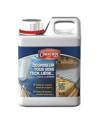 Dégriseur tous bois DECK CLEANER - 1 litre