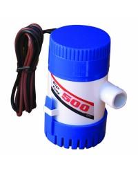 Pompe de cale centrifuge - 500 - 1900 l/h - 12 V