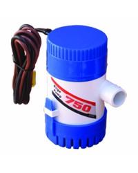 Pompe de cale centrifuge - 750 - 2850 l/h - 12 V