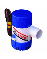 Pompe de cale centrifuge - 1100 - 4165 l/h - 12 V