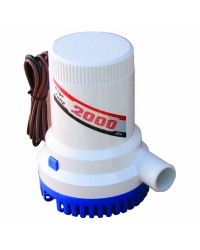 Pompe de cale centrifuge - 2000 - 7570 l/h - 24 V