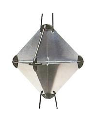 Réflecteur radar - 34 x 34 x 47 mm - RORC/IOR