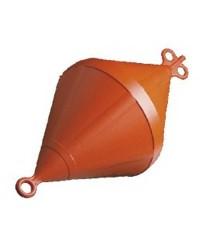Bouée de corps mort bi-conique - Ø 500 mm - orange