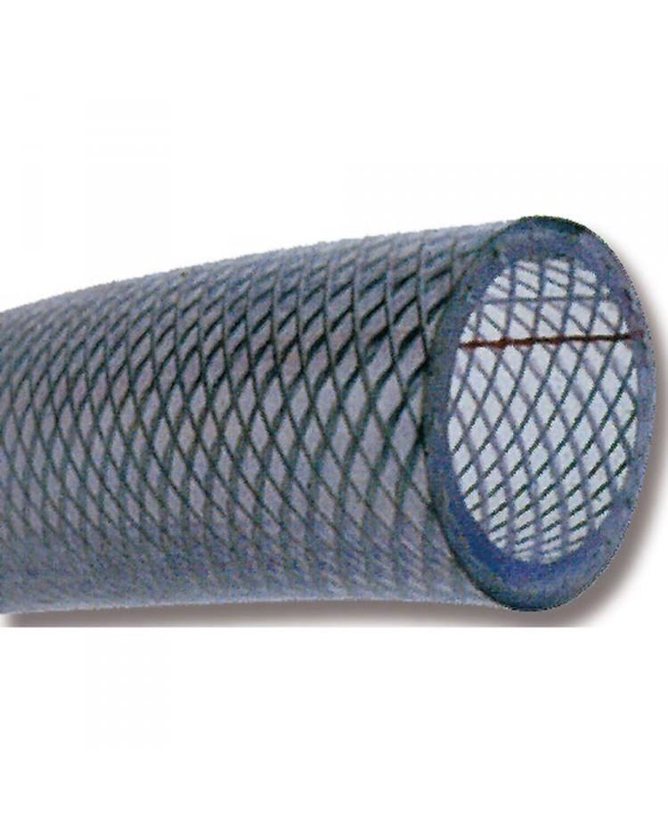 Tuyau PVC cristal armé - Ø 30 x 38 mm