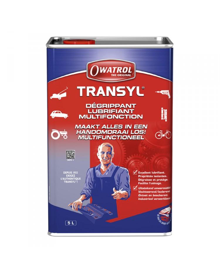 Dégrippant et lubrifiant TRANSYL - 1 litre