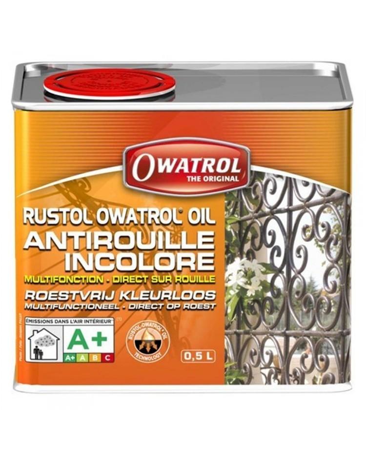 Antirouille multifonction RUSTOL OWATROL - 0.5 litre