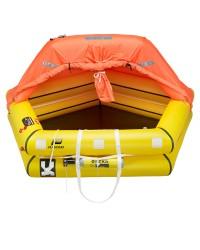 Radeau Coastal ISO 9650-2 - 8 personnes - sac