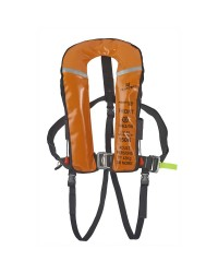 Gilet austral 180 automatique, harnais, sous cutale, flashlight - orange