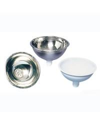 Vasque inox ronde - Ø 260 mm - H 125 mm