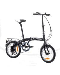 Vélo pliant - roues 16'' -  6 vitesses - 12 Kg