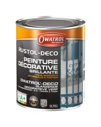 Antirouille RUSTOL-DECO - gris fenêtre - 0.75 L