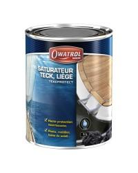 Saturateur bois à l'eau TEAK PROTECT - miel - 5 L