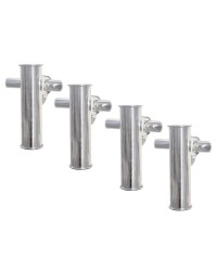 Porte-canne fixation sur balcon - lot de 4