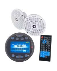 Pack Radio FM Bluetooth USB et enceintes