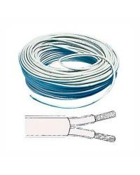Câble électrique bipolaire - 2 x 1 mm² - 50M
