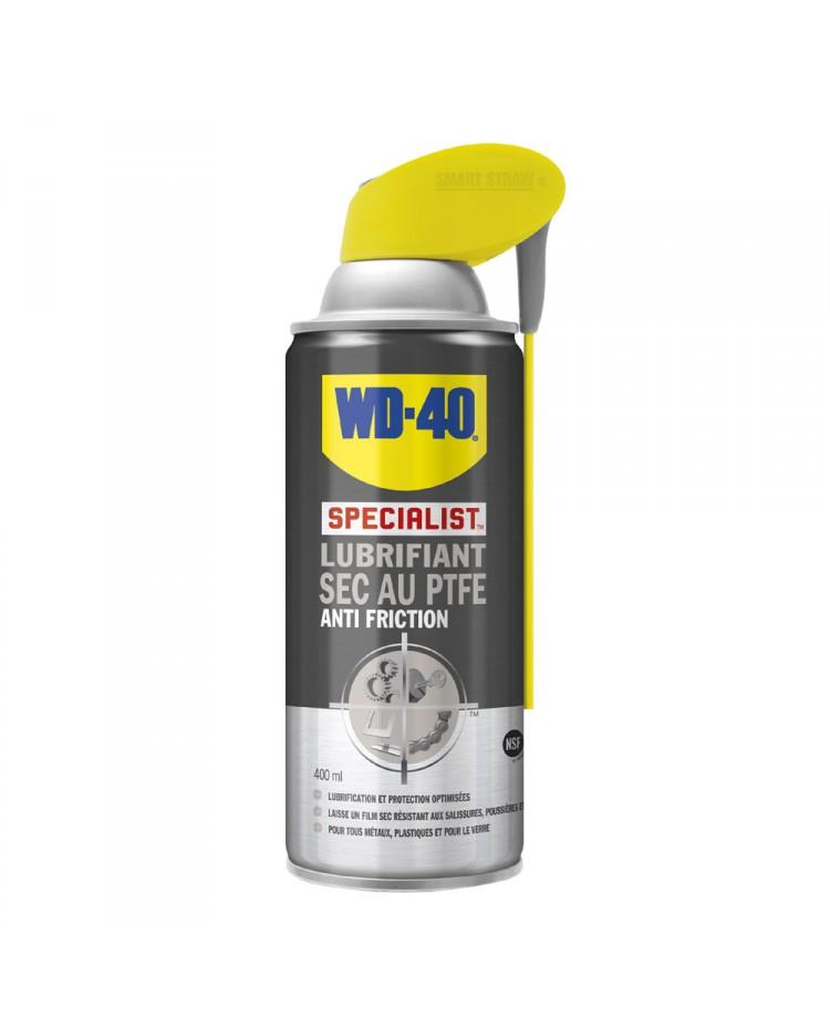 WD-40 - spécialist lubrifiant sec PTFE - aérosol de 400 ml