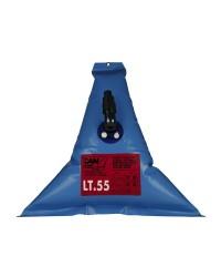 Réservoir d'eau douce souple elastomère - 55 litres - 82x83 cm
