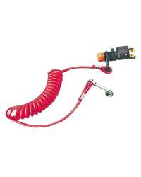 Coupe circuit + clip pour hors bord