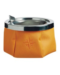 Cendrier - skay jaune - diamètre 115 mm