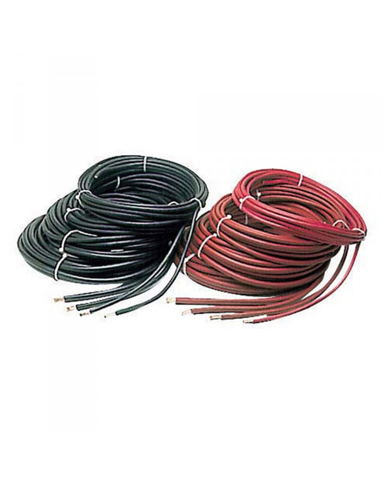 Câble de batterie - 20 mm² - noir - le mètre