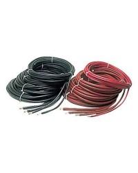 Câble de batterie - 90 mm² - noir - le mètre