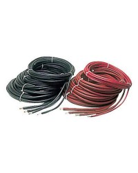 Câble de batterie - 90 mm² - rouge - le mètre
