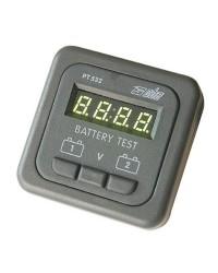 Tableau électrique testeur de batterie électronique - 2 batteries 12V