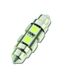 Ampoule LED - navette 39 mm - 12 V - 120 lumens - Blister de 2