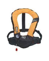 Gilet EVO 165N orange manuel ss harnais