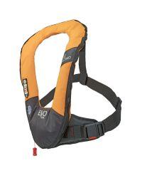 Gilet EVO 165N orange manuel avec harnais