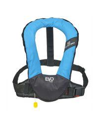 Gilet EVO 165N turquoise manuel avec harnais