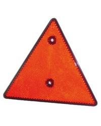 Catadioptre triangulaire - rouge