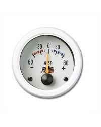 Afficheur ampèremètre - G Line - Ø 52 mm - blanc