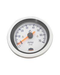 Afficheur compte-tours 0-7000 RPM - G Line - Ø 84 mm - blanc