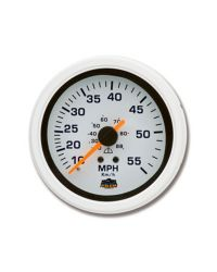 Afficheur speedomètre 10-55 MPH - G Line - Ø 84 mm - blanc
