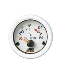 Afficheur température d'huile avec sonde - G Line - Ø 52 mm - blanc