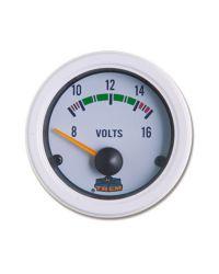 Afficheur voltmètre - G Line - Ø 52 mm - blanc