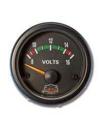 Afficheur voltmètre - G Line - Ø 52 mm - noir