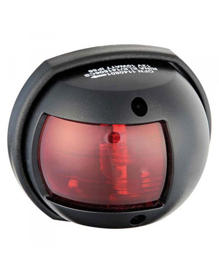 Feu de navigation Compact12 - ABS babord - noir