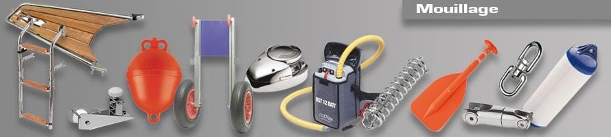 Mouillage, équipement de mouillage sur Accastillage Distrimarine.