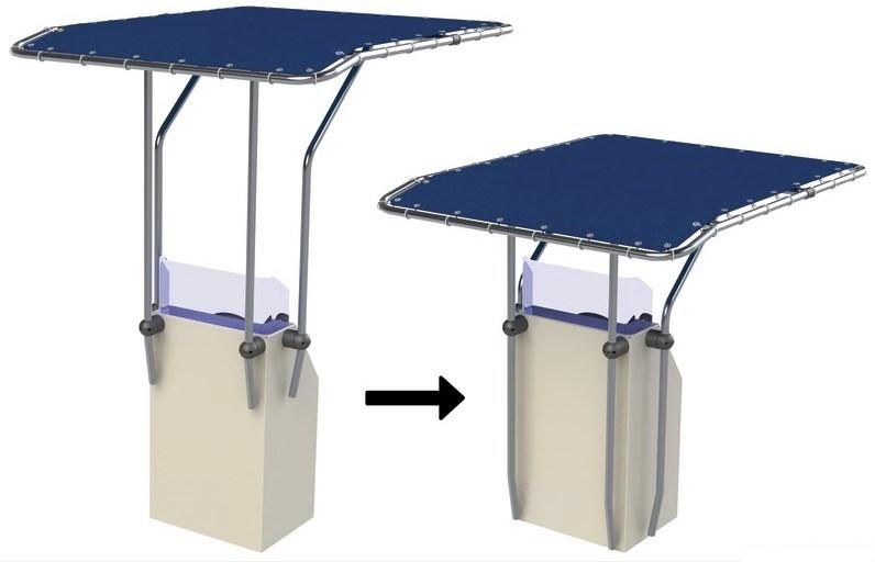 T-Top aluminium