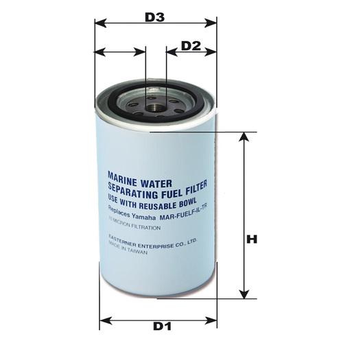 Cartouche pour filtre essence