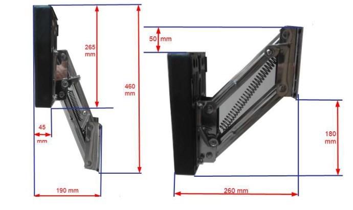 chaise moteur inox relevable - 10 cv
